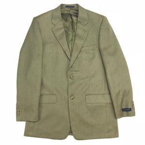 Club Room Herringbone sportcoat, beige 40L